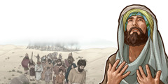 اِرْمیا دعا میکند؛ ساکنان اورشلیم به اسارت برده میشوند