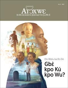 Atɔxwɛ No. 42017 | Etɛ Biblu ka Ðɔ Dó Gbɛ̀ kpo Kú kpo Wu?