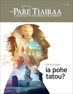Te Pare Tiairaa No. 4 2017 | Eaha te tupu ia pohe tatou?