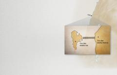 Se mapa kiteititia Tiro tlen okatka Fenicia uan Tiro tlen okatka isla