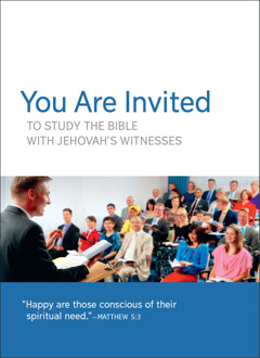 Congregation Meeting Invitation