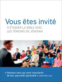 Invitation aux réunions de la congrégation
