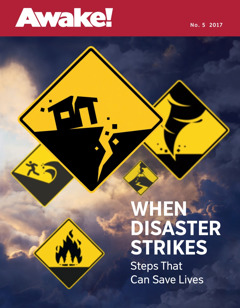 Awake! Napa 5 2017 | When Disaster Strikes—Steps That Can Save Lives