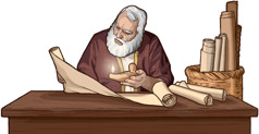 دانیایل خدا کے کلام کا مطالعہ کر رہے ہیں۔