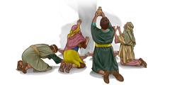 اسرائیلیان در مقابل خدایان غیر سجده میکنند