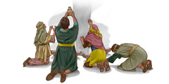 The Israelites bow down to other gods