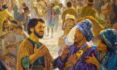 در پنتیکاست، یکی از مسحشدگان با موعظه به مردم از نژادهای مختلف «نبوّت» میکند
