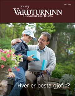 Varðturninn nr. 6 2017 | Hver er besta gjöfin?