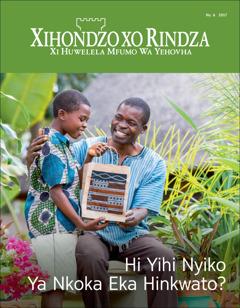 Xihondzo Xo Rindza xa No. 62017 | Hi Yihi Nyiko Ya Nkoka Ku Tlula Hinkwato?