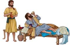 یک اسرائیلی در خوردن و نوشیدن زیادهروی میکند