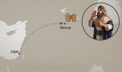 A rota de Jope a Nínive