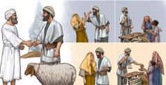 استقامة احد الاسرائيليين في التجارة ومعاملته لزوجته يحدِّدان هل يقبل يهوه ذبيحته ام لا