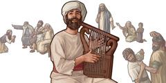 Pranašas Habakukas lieka dvasiškai budrus, nors aplink daug blogio
