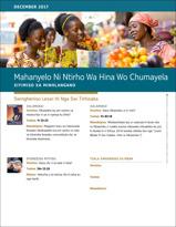 Mahanyelo Ni Ntirho Wa Hina Wo Chumayela— Xiyimiso Xa Minhlangano, December 2017