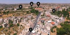 مسیری که عیسی احتمالاً از بیتعَنیا به اورشلیم طی کرد