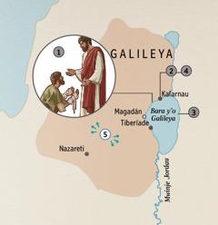 Yezu wahavulumutxa aredda murudda w'o Galileya