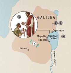 Naxinandá xi nchja̱ni Galilea jñani nga kisindaya Jesús je chjota