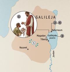 Mesta v Galileji, kjer je Jezus ozdravljal ljudi.