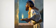 Um vigia nos tempos bíblicos