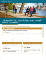 Umaso Wathu Wacikristu na Utumiki—Programu ya Misonkhano ya Abril wa 2018