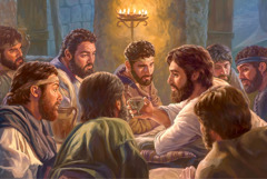 Jesus institutes the Lord's Evening Meal
