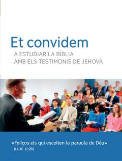 Invitació ales reunions bíbliques