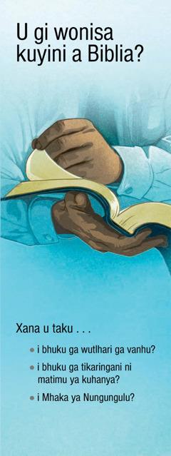 U gi wonisa kuyini a Biblia?