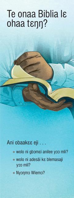 Te onaa Biblia lɛ ohaa tɛŋŋ?