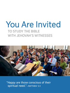 Congregation Meeting Invitation