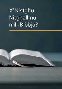 X'Nistgħu Nitgħallmu mill-Bibbja?