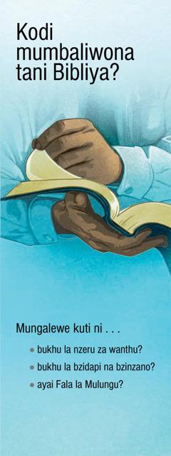 Kodi Mumbaliwona Tani Bibliya?