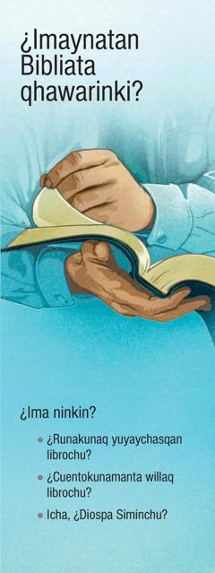 ¿Imata piensanki bibliamanta?