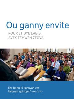 Lenvitasyon pour renyon kongregasyon