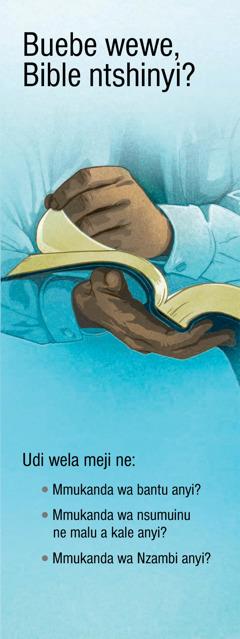 Buebe wewe Bible ntshinyi?
