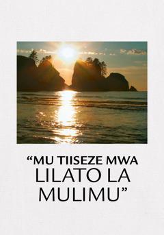Molukona Kuzwelapili Kubela Mwa Lilato la Mulimu