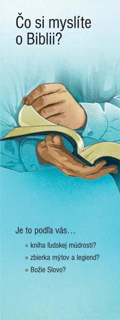 Čo si myslíte o Biblii?