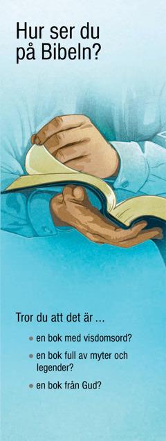 Hur ser du på Bibeln?
