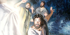 Peteru man Yakobu kua Yohane nenge a mpase u sha mnenge u i gema mluyol u Yesu la