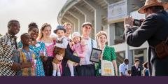 Saksi-Saksi Yehuwa daripada pelbagai bangsa menghadiri konvensyen istimewa di Vienna, Austria