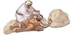 Tapeka ra te tangata Samaria i te au puta o te tangata ngati Iuda