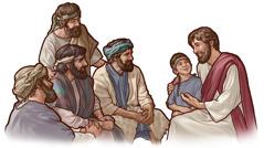 Иса шаҝирдләринә ушаг кими һәлим олмағы өјрәдир