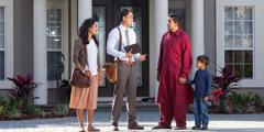 Um casal na pregação encontra um homem com o filho que fala uma língua diferente da deles