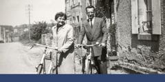 Ringkonnaülevaataja koos abikaasaga Prantsusmaal, 1957