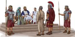 Paavali todistaa kuningas Herodes Agrippan edessä