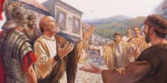 Phao-lô cảm tạ Đức Chúa Trời vì anh em đến gặp ông