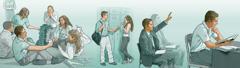 ایک نوجوان بھائی بائبل کا ذاتی مطالعہ کر رہا ہے، اِجلاس میں جواب دے رہا ہے، ایک ایسی لڑکی سے دوستی کرنے سے اِنکار کر رہا ہے جو یہوواہ کی گواہ نہیں ہے، ایسی تفریح کر رہا ہے جو یہوواہ کے معیاروں کے مطابق ہے۔