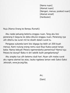 Siti chunto surat