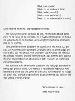 Carta ma oserúami
