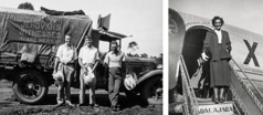 Three single brothers on a witnessing tour across Australia in 1937; a single sister arrives in her missionary assignment in Mexico in 1947