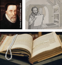 William Tyndale; William Tyndale e tana matini maani puka; te urianga mua a Tyndale no te Koreromotu Ou